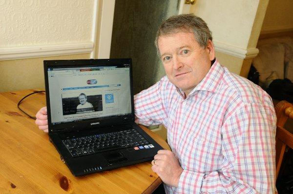 Kevin May set up a website to encourage people to sign up to the organ donor register