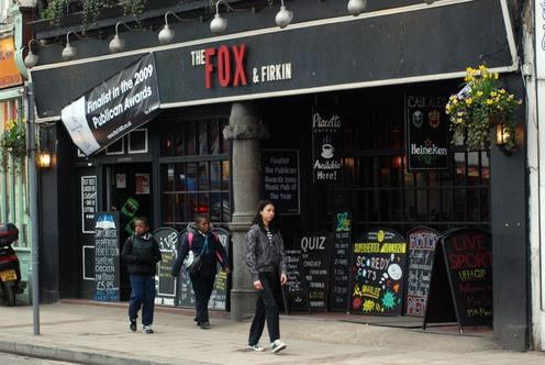 PubSpy reviews Fox and Firkin, Lewisham