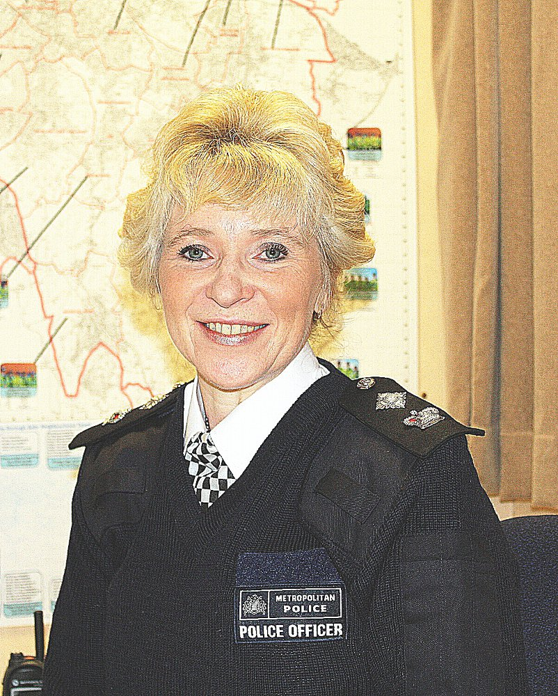 Permanent leader: Chief Superintendent Steph Roberts