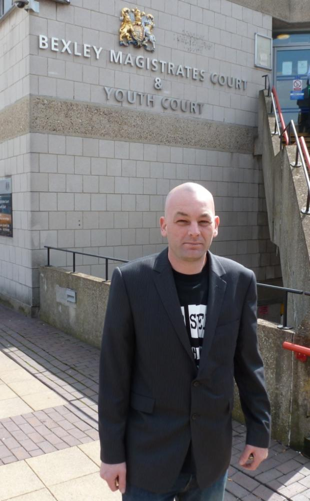 John Kerlen, aka Olly Cromwell, was found guilty of sending grossly offensive and menacing messages