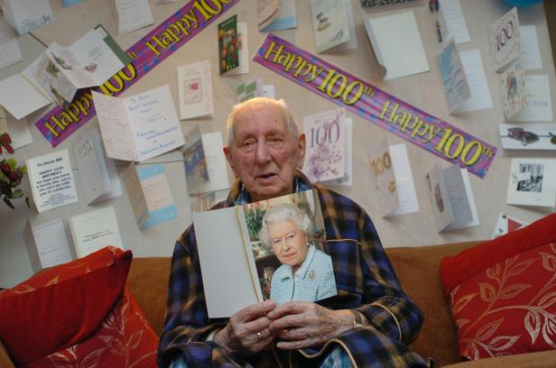 D-Day veteran celebrates 100th birthday