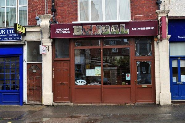 The Bengal Brasserie in Hither Green