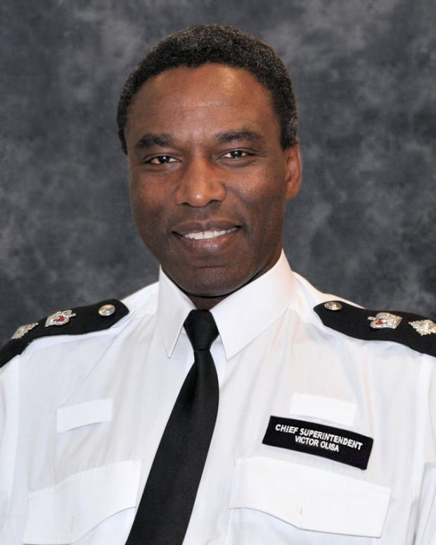 Chief Supt Olisa started his career in Surrey Police in 1982