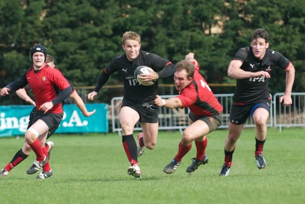 Dave Bonner scored his first try for Blackheath.  Warren King Photography