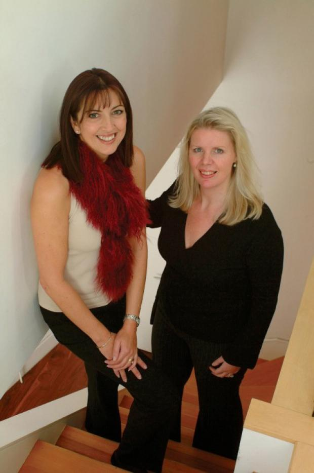 Jane Cooper and Sharon Johnston of Dressed2Sell.