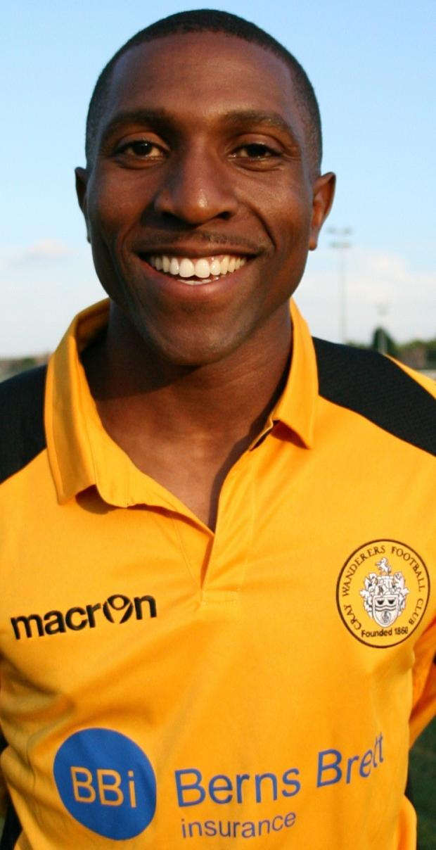 Tyrone Sterling was man of the match in Cray's 2-1 win versus Harrow Borough.