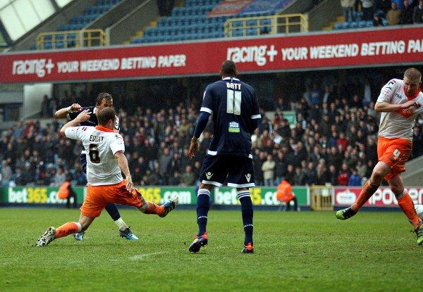 Harry Kane makes it 2-2. PICTURES BY EDMUND BOYDEN.