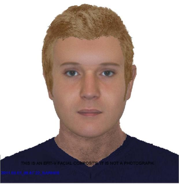 Call the police if you recognise the man in the e-fit