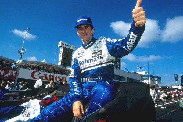 1996 Formula 1 world champion Damon Hill will make his racing comeback at Brands Hatch. Picture - Volkswagen/Kräling