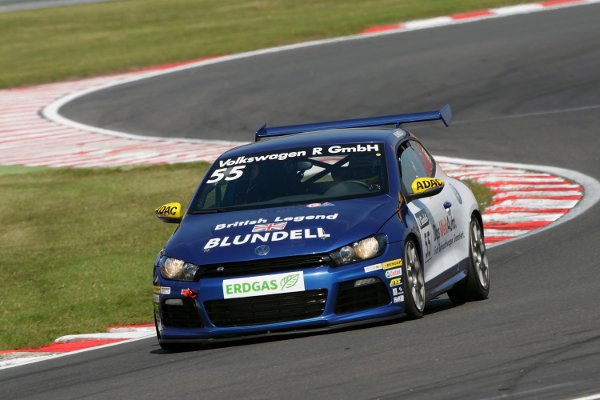 Damon Hill will be racing a VW Scirocco R at Brands Hatch alongside Mark Blundell and four more legends