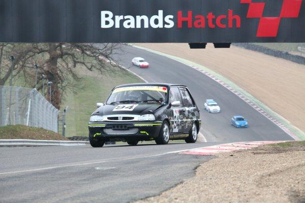 Thomas Grainger in action at Brands Hatch