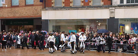 Morris dancing queen bromley