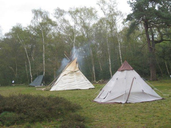 Rainbow Family members were camped at Keston Ponds to celebrate Beltane