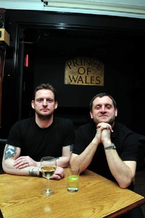 Pub regulars go from pork scratchings to Piggy film fame