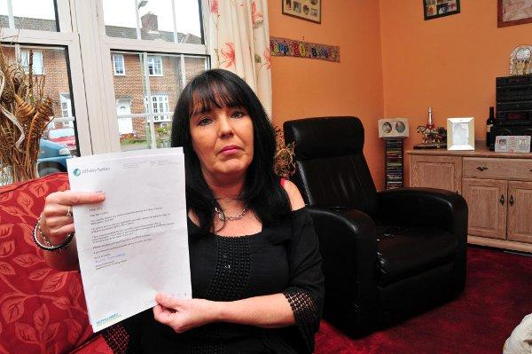 Bonny Troncone's eviction letter was sent to her dead aunt