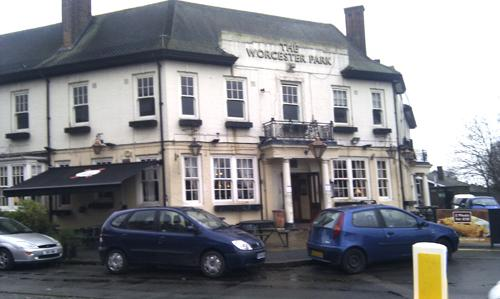 The campaign hopes to save Worcester Park Tavern
