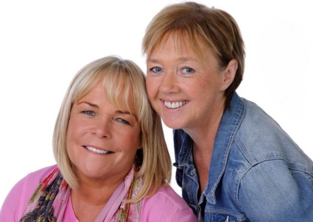 Reunited: Linda Robson and Pauline Quirke