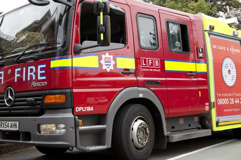 Firefighters were called to Turpington Lane at 3:30am.