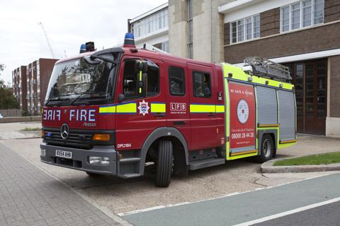 BEXLEY fire station saved