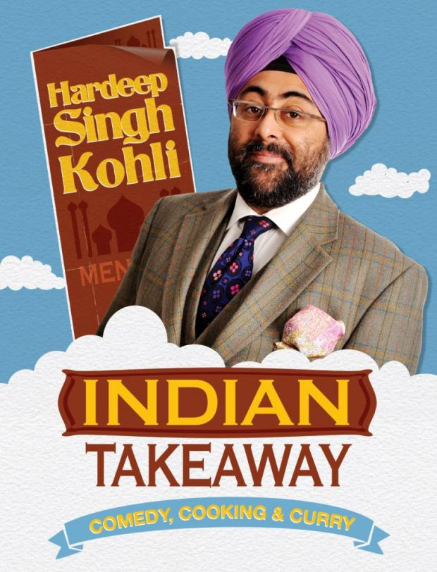 Review: Hardeep Singh Kohli's Indian Takeaway at The Woodville, Gravesend