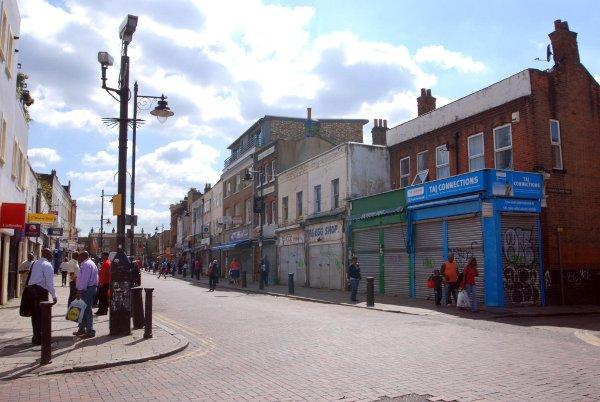 TV fame - Deptford High Street