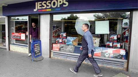 Jessops stores in Bromley, Bexleyheath and Bluewater are under threat as the company has gone into administration.