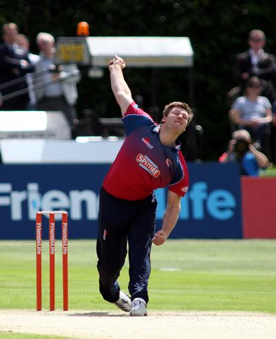 News Shopper: Kent enjoyed an emphatic eight-wicket victory over Surrey in their T20 meeting at Beckenham on Sunday (June 17)