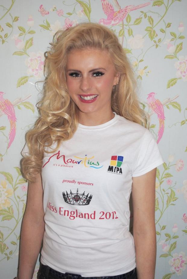 Beauty queen Emma Martin hoping for Miss England success