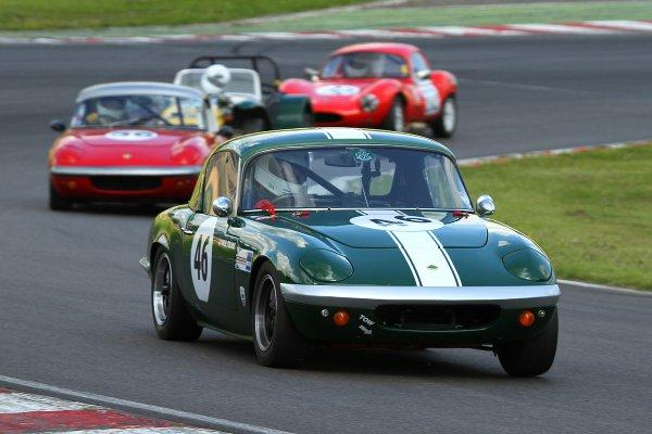 The Lotus Elan joins fellow half-centurion MGB in the supporting GT races
