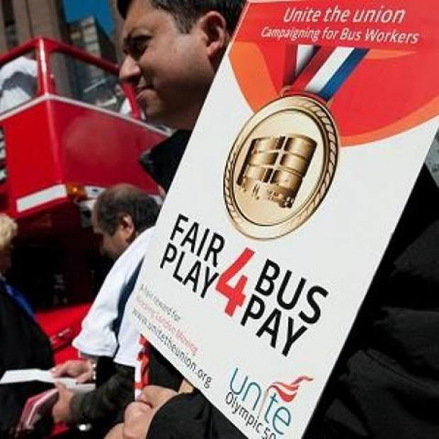 London bus strike is causing major disruption