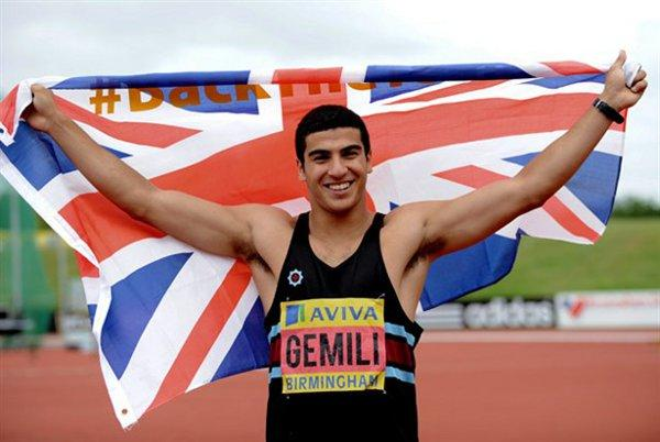 News Shopper: Adam Gemili at the Aviva 2012 Trials on Saturday.