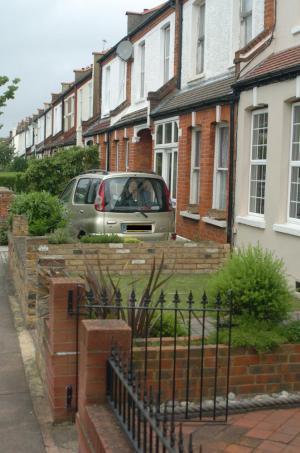 This garden in Belmont Road is already being used as a driveway