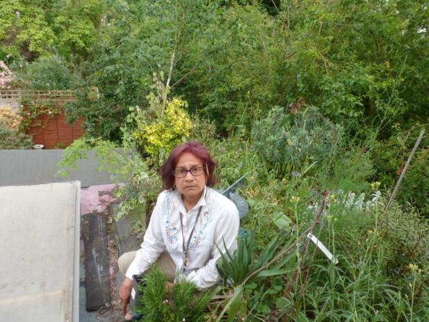 Rita Grootendorst is taking Bexley Council to court over an order to tidy their garden