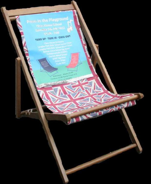 You can win this deckchair