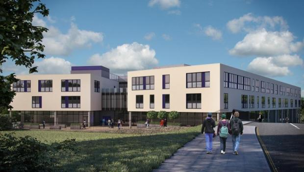 An artists' impression of what the new campus could look like