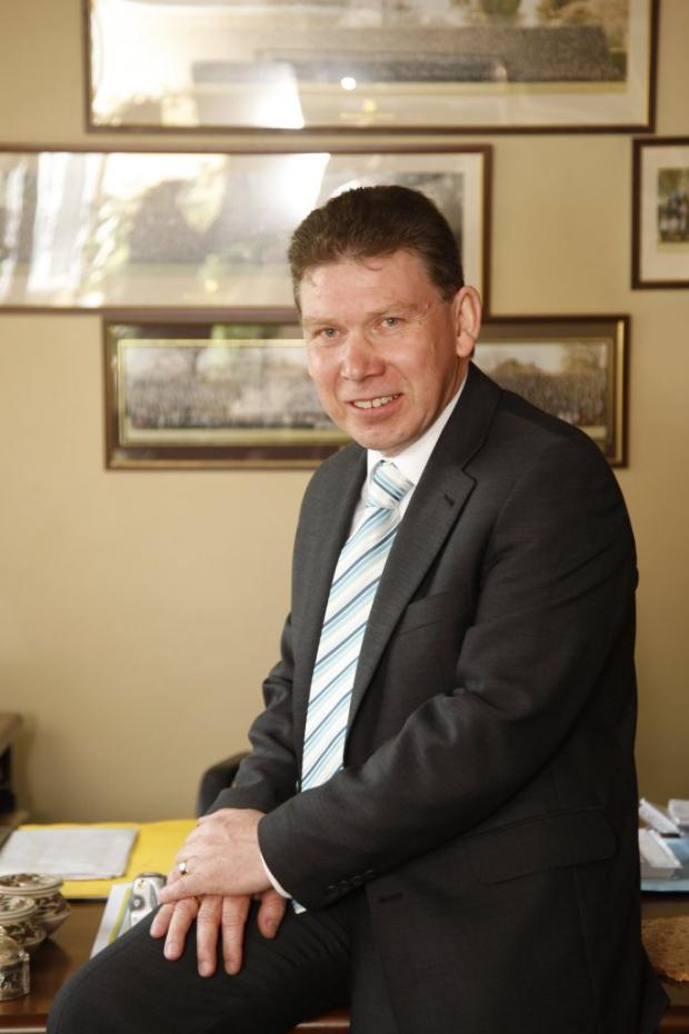 Bexley Grammar School head teacher John Welsh