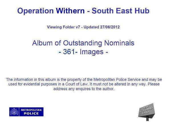 Met Police has released an album of 361 outstanding riot suspects