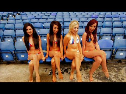 Crystal Palace turn to saucy cheerleader video to sell season tickets