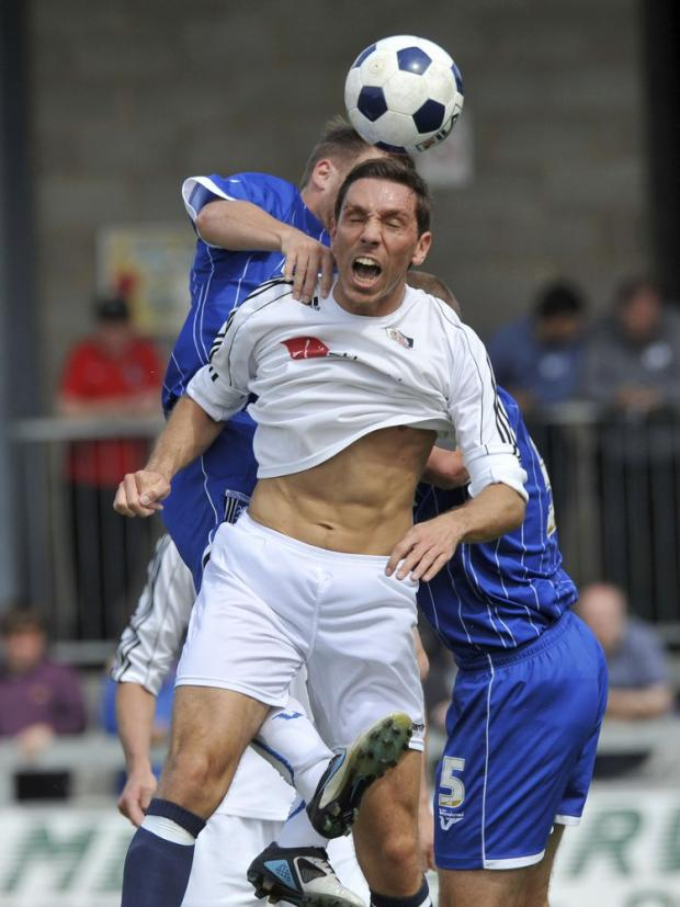 Tom Champion (above) scored Dartford's opener. PICTURE BY KEITH GILLARD.