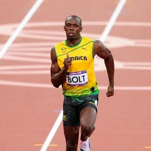Usain Bolt won Olympic gold in the 100m final
