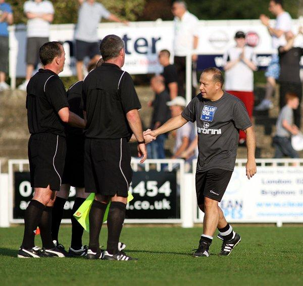 Bromley manager Mark Goldberg. PICTURE BY EDMUND BOYDEN.