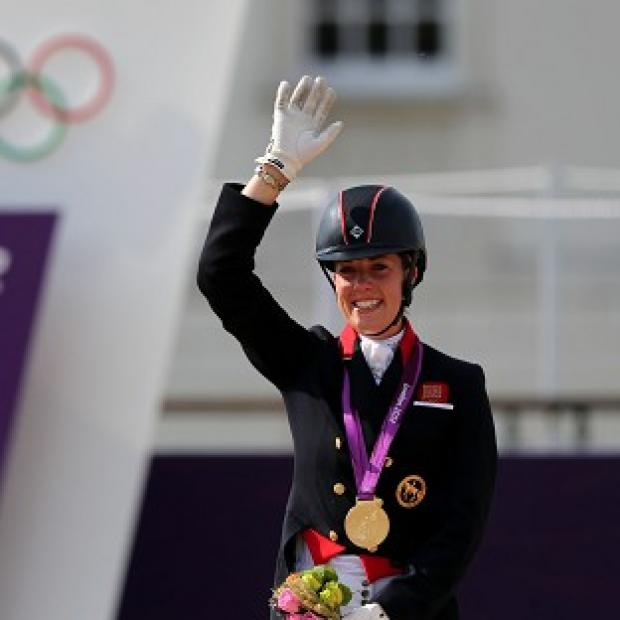 Dujardin celebrates second gold