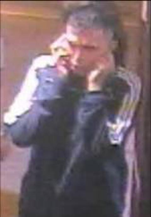Police want to find a man who carried out a glassing attack at the Swan and Mitre pub in Bromley