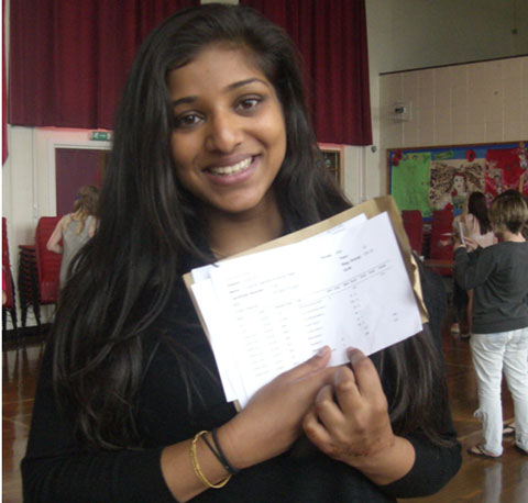Rhianne Patel of Townley Grammar School