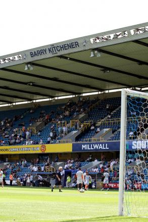The Den is becoming a happy hunting ground for visiting teams these days. PICTURE