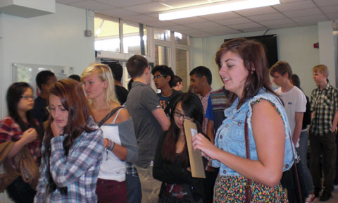 Bexley Grammar School pupils get their GCSE results