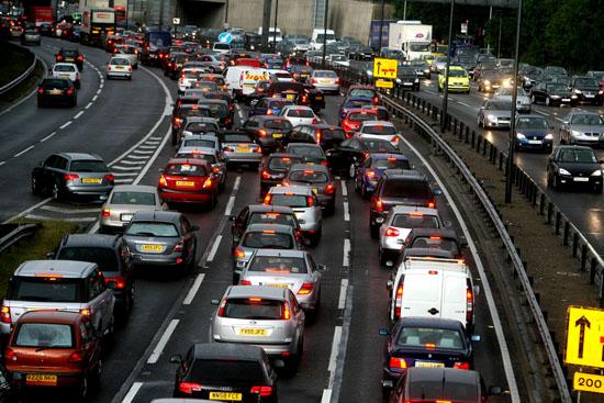Motorists faced delays following the two crashes on the A2.