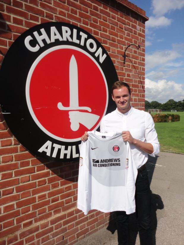 David Button arrives at the training ground