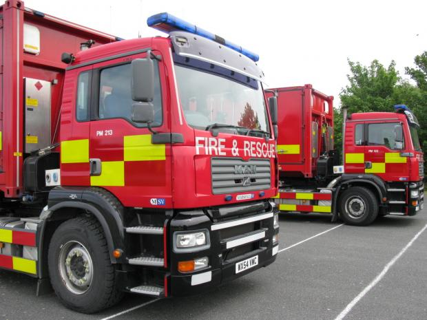 Firefighters were called to Wrotham Road at 1:30am. (Picture: Kent Fire and Rescue Service / Sean Holden)