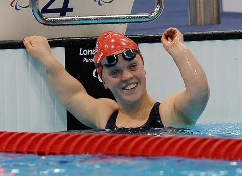 Paralympic gold medallist Ellie Simmonds is backing the Sainsbury's Sport Relief Swimathon